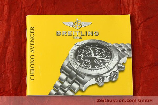 Used luxury watch Breitling Avenger chronograph titanium automatic Kal. B13 ETA 7750 Ref. E13360  | 151304 14