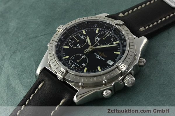 Used luxury watch Breitling Chronomat chronograph steel automatic Kal. B13 ETA 7750 Ref. A13048  | 151306 01