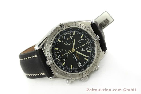 Used luxury watch Breitling Chronomat chronograph steel automatic Kal. B13 ETA 7750 Ref. A13048  | 151306 03