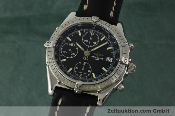 Used luxury watch Breitling Chronomat chronograph steel automatic Kal. B13 ETA 7750 Ref. A13048  | 151306 04
