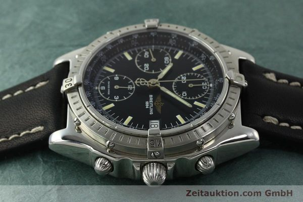 Used luxury watch Breitling Chronomat chronograph steel automatic Kal. B13 ETA 7750 Ref. A13048  | 151306 05