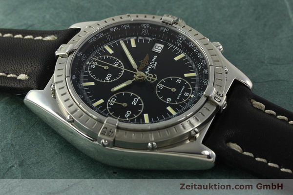 Used luxury watch Breitling Chronomat chronograph steel automatic Kal. B13 ETA 7750 Ref. A13048  | 151306 14
