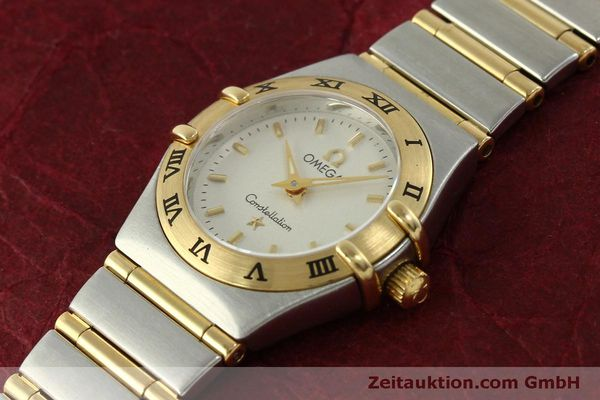 Used luxury watch Omega Constellation steel / gold quartz Kal. 1456  | 151307 01