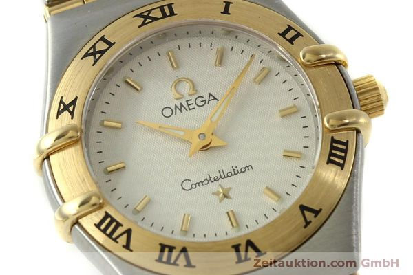 Used luxury watch Omega Constellation steel / gold quartz Kal. 1456  | 151307 02