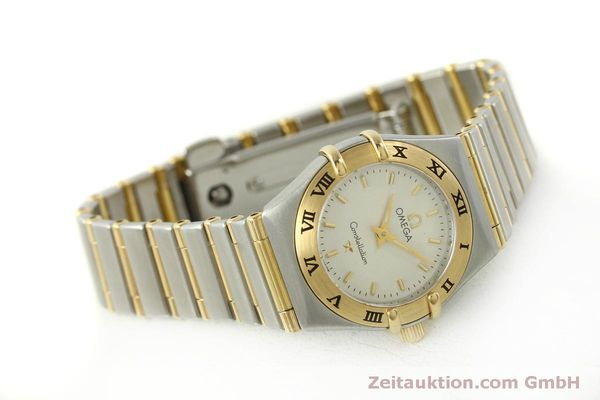 Used luxury watch Omega Constellation steel / gold quartz Kal. 1456  | 151307 03