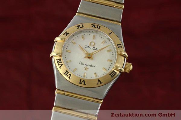 Used luxury watch Omega Constellation steel / gold quartz Kal. 1456  | 151307 04