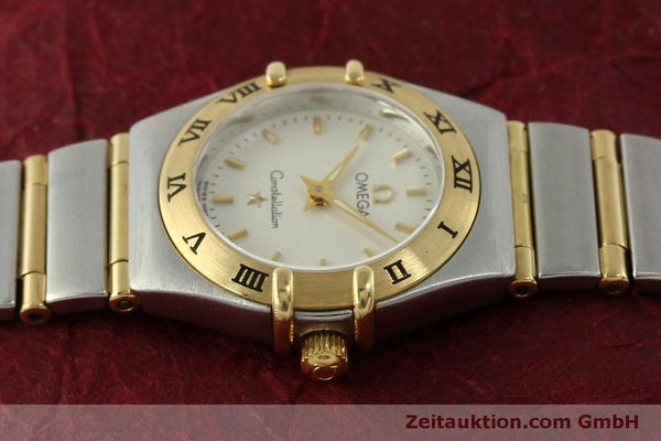 Used luxury watch Omega Constellation steel / gold quartz Kal. 1456  | 151307 05