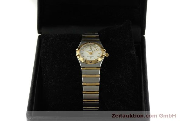 Used luxury watch Omega Constellation steel / gold quartz Kal. 1456  | 151307 07