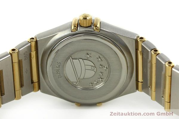Used luxury watch Omega Constellation steel / gold quartz Kal. 1456  | 151307 09