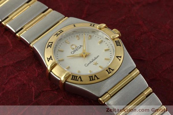 Used luxury watch Omega Constellation steel / gold quartz Kal. 1456  | 151307 14