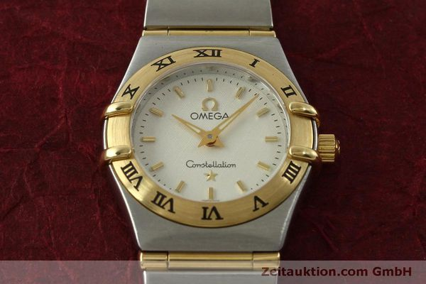 Used luxury watch Omega Constellation steel / gold quartz Kal. 1456  | 151307 15