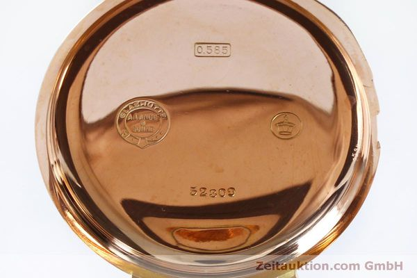 Used luxury watch A. Lange & Söhne DUF 14 ct red gold manual winding Kal. 43  | 151309 11