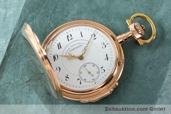 Used luxury watch A. Lange & Söhne DUF 14 ct red gold manual winding Kal. 43  | 151309 16