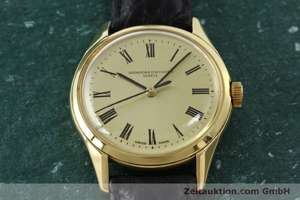 Used luxury watch Vacheron & Constantin * 18 ct gold automatic Kal. P1019 Ref. 4872  | 151310 14