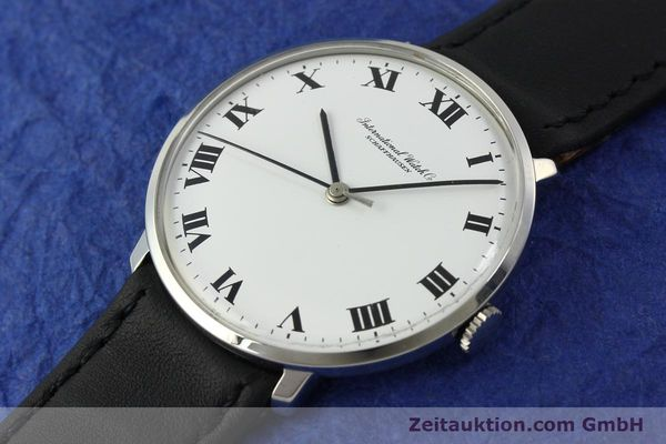 Used luxury watch IWC Portofino steel manual winding Kal. 402 Ref. 1410 VINTAGE  | 151311 01