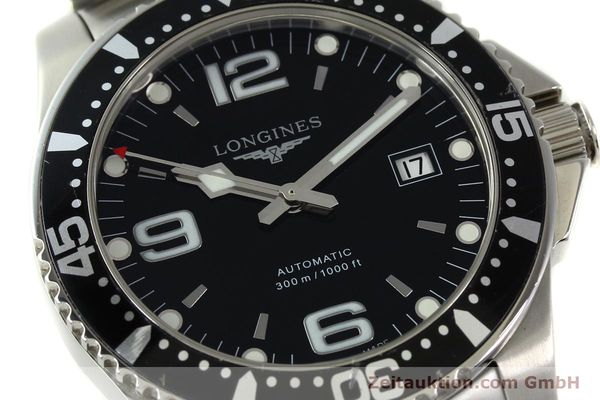 Used luxury watch Longines Conquest steel automatic Kal. ETA 2824-2 Ref. L3.642.4  | 151312 02