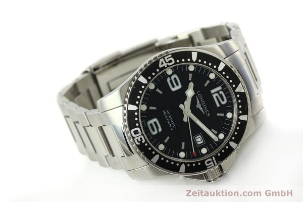Used luxury watch Longines Conquest steel automatic Kal. ETA 2824-2 Ref. L3.642.4  | 151312 03