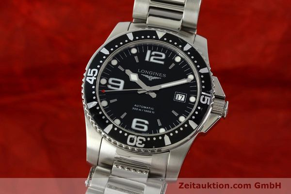 Used luxury watch Longines Conquest steel automatic Kal. ETA 2824-2 Ref. L3.642.4  | 151312 04