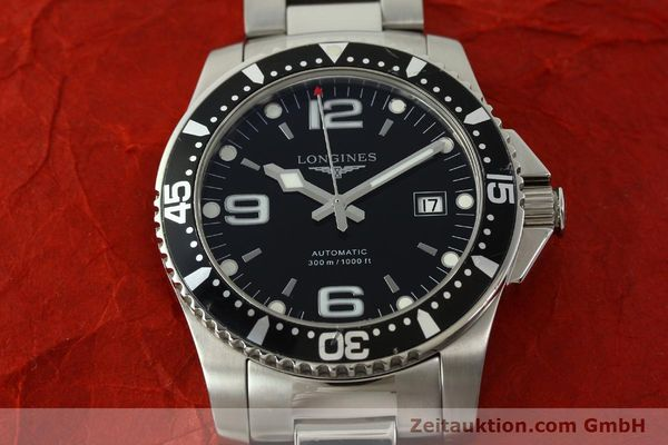 Used luxury watch Longines Conquest steel automatic Kal. ETA 2824-2 Ref. L3.642.4  | 151312 18