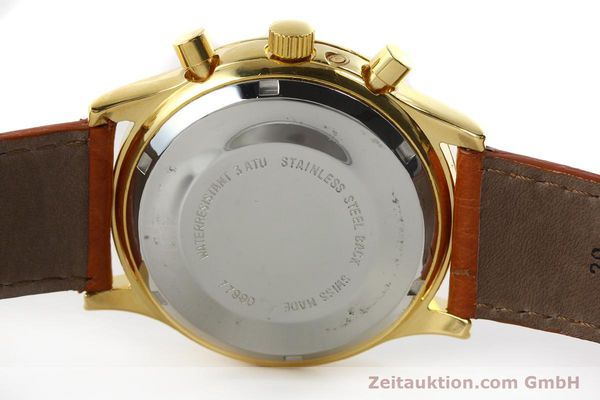 Used luxury watch Chronoswiss A. Rochat chronograph gold-plated automatic Kal. Valj. 7750 Ref. 77990  | 151313 09