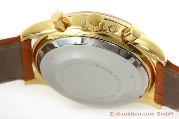 Used luxury watch Chronoswiss A. Rochat chronograph gold-plated automatic Kal. Valj. 7750 Ref. 77990  | 151313 11