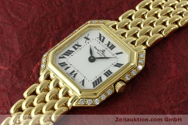 Used luxury watch Baume & Mercier * 18 ct gold quartz Kal. BM5095 ETA 976.001 Ref. 18259  | 151314 01