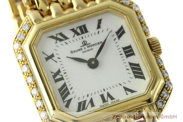 Used luxury watch Baume & Mercier * 18 ct gold quartz Kal. BM5095 ETA 976.001 Ref. 18259  | 151314 02