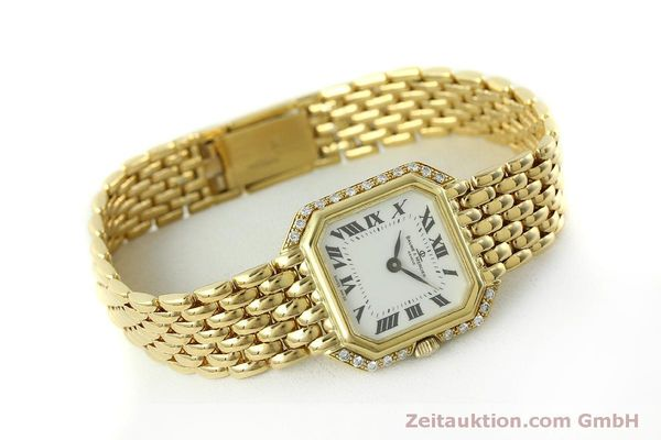 Used luxury watch Baume & Mercier * 18 ct gold quartz Kal. BM5095 ETA 976.001 Ref. 18259  | 151314 03