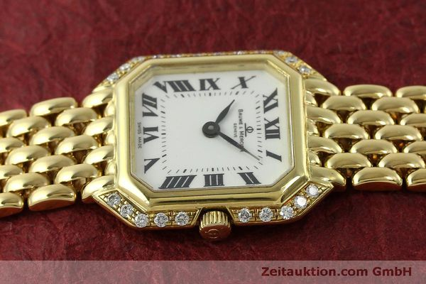 Used luxury watch Baume & Mercier * 18 ct gold quartz Kal. BM5095 ETA 976.001 Ref. 18259  | 151314 05