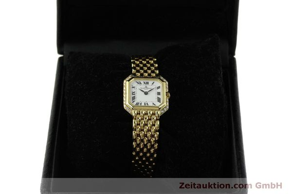 Used luxury watch Baume & Mercier * 18 ct gold quartz Kal. BM5095 ETA 976.001 Ref. 18259  | 151314 07