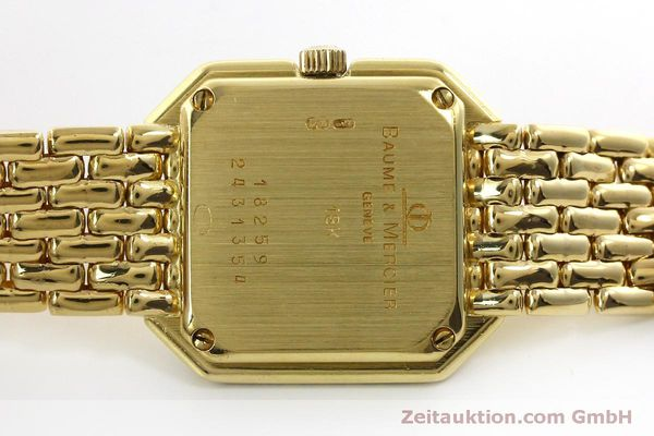 Used luxury watch Baume & Mercier * 18 ct gold quartz Kal. BM5095 ETA 976.001 Ref. 18259  | 151314 09