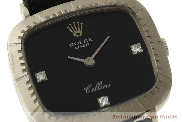 Used luxury watch Rolex Cellini 18 ct white gold manual winding Kal. 1602 Ref. 4082  | 151315 02
