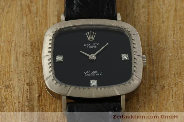 Used luxury watch Rolex Cellini 18 ct white gold manual winding Kal. 1602 Ref. 4082  | 151315 14