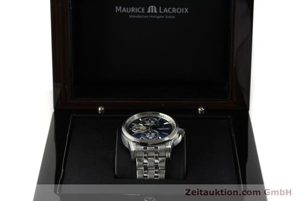 Used luxury watch Maurice Lacroix Pontos chronograph steel automatic Kal. ETA 7750 Ref. PT6178/88  | 151317 07