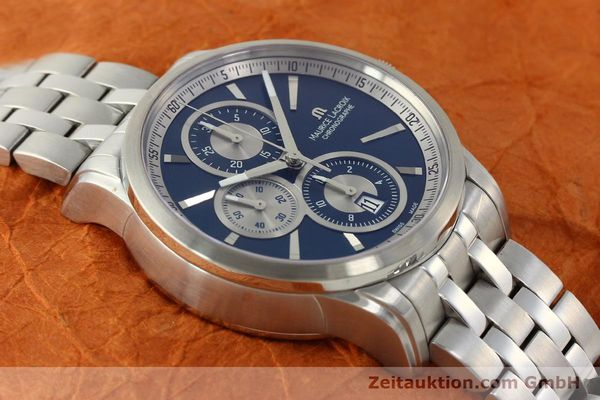 Used luxury watch Maurice Lacroix Pontos chronograph steel automatic Kal. ETA 7750 Ref. PT6178/88  | 151317 14