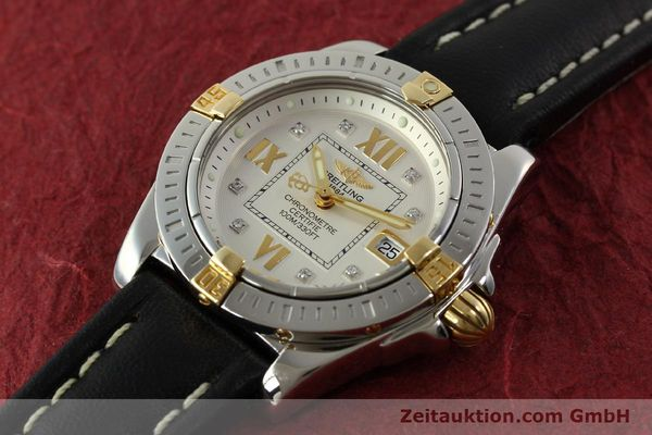 Used luxury watch Breitling Cockpit steel / gold quartz Kal. B71  Ref. B71356  | 151322 01