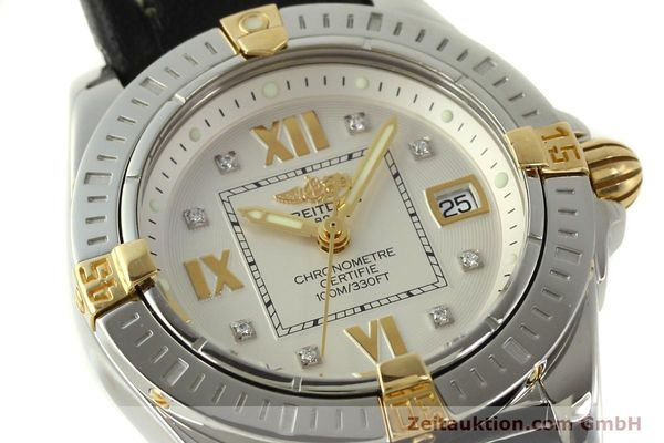 Used luxury watch Breitling Cockpit steel / gold quartz Kal. B71  Ref. B71356  | 151322 02
