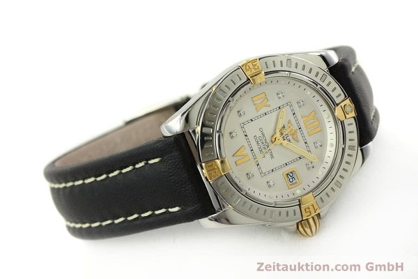 Used luxury watch Breitling Cockpit steel / gold quartz Kal. B71  Ref. B71356  | 151322 03