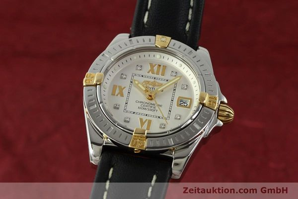 Used luxury watch Breitling Cockpit steel / gold quartz Kal. B71  Ref. B71356  | 151322 04