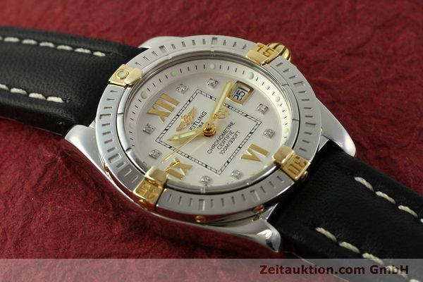Used luxury watch Breitling Cockpit steel / gold quartz Kal. B71  Ref. B71356  | 151322 14