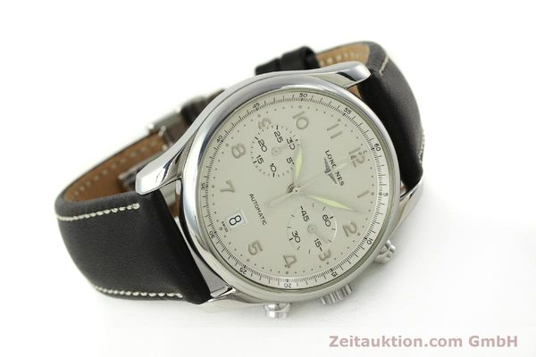 Used luxury watch Longines Avigation chronograph steel automatic Kal. L651.3 ETA 2894-2 Ref. L2.620.4  | 151323 03