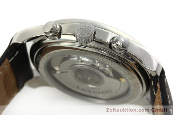 Used luxury watch Longines Avigation chronograph steel automatic Kal. L651.3 ETA 2894-2 Ref. L2.620.4  | 151323 08