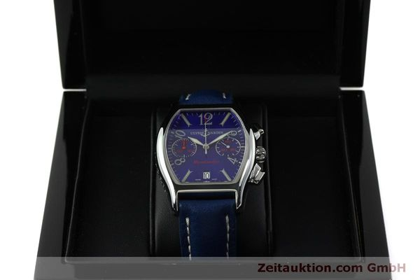 Used luxury watch Ulysse Nardin Michelangelo chronograph steel automatic Kal. ETA 2894-2 Ref. 563-42 LIMITED EDITION | 151325 07