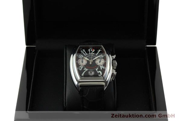 Used luxury watch Franck Muller Conquistador chronograph steel automatic Kal. 1185 Co2  | 151328 07