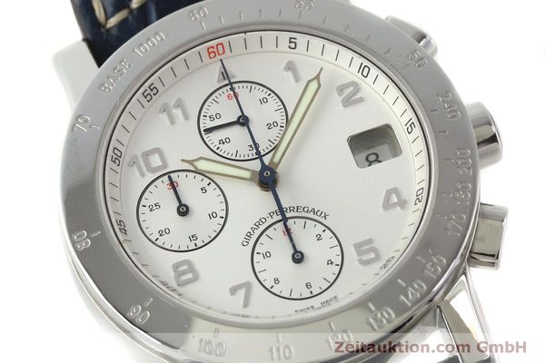Used luxury watch Girard Perregaux 7000 chronograph steel automatic Kal. 8000-614 Ref. 7000  | 151330 02