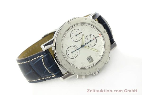 Used luxury watch Girard Perregaux 7000 chronograph steel automatic Kal. 8000-614 Ref. 7000  | 151330 03
