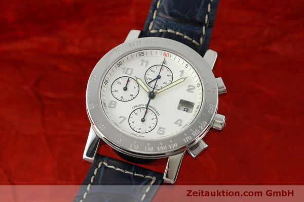 Used luxury watch Girard Perregaux 7000 chronograph steel automatic Kal. 8000-614 Ref. 7000  | 151330 04