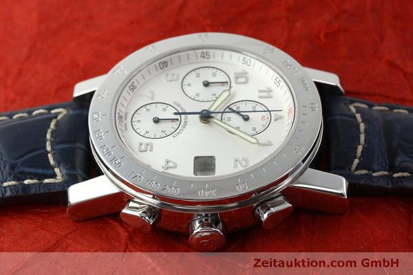 Used luxury watch Girard Perregaux 7000 chronograph steel automatic Kal. 8000-614 Ref. 7000  | 151330 05