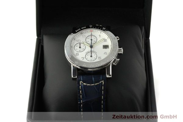 Used luxury watch Girard Perregaux 7000 chronograph steel automatic Kal. 8000-614 Ref. 7000  | 151330 07
