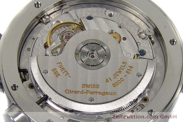 Used luxury watch Girard Perregaux 7000 chronograph steel automatic Kal. 8000-614 Ref. 7000  | 151330 10